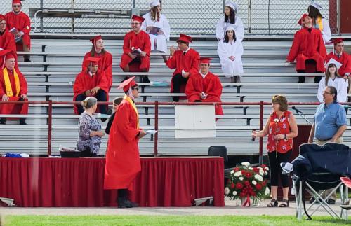 Getting diplomas