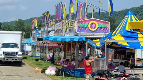 Warren County Fair arcade